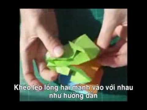 Học lỏm cách gấp pháo hoa origami huyền ảo kỳ lạ