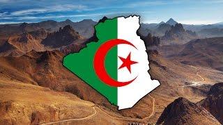 Blank Map of Algeria (الجزائر) - Timelapse