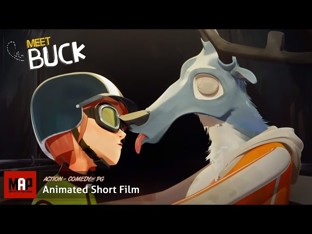 MEET BUCK | Beware of your girlfriend's father (3D CGI Animation by Supinfocom)