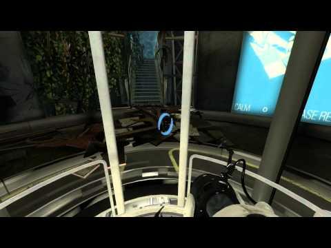 Portal 2 Walkthrough, Chapter 1 - The Courtesy Call HD