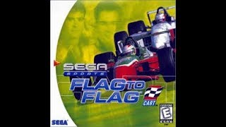 DREAMCAST NTSC GAMES: Flag to Flag CART
