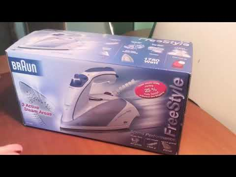 Braun SL6260 FreeStyle Iron Unboxing & Quick Review