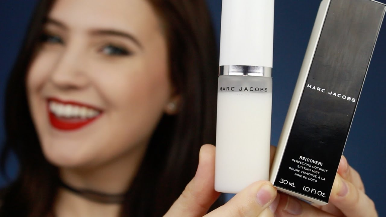 3d208d1e4666 Marc Jacobs Perfecting Coconut Setting Mist Review   Demo - YouTube