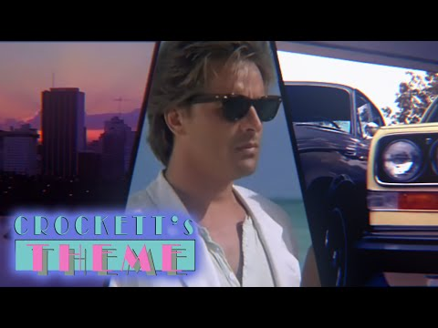 CROCKETT's THEME by Jan Hammer [ Miami Vice 1984 ]