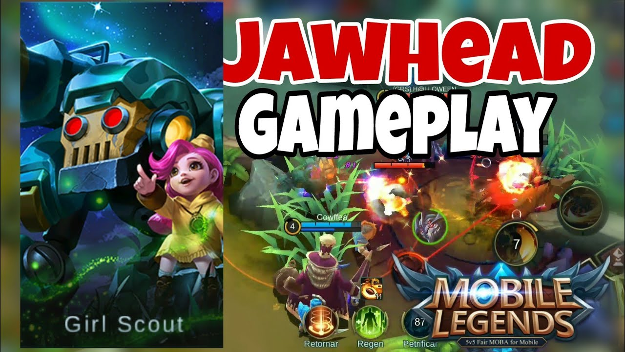 JAWHEAD GAMEPLAY MOBILE LEGENDS