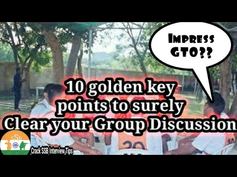 SSB GTO task # Group discussion (GD) || 10 golden points which help to clear your SSB