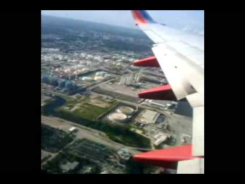 Miami TakeOff Video Flight To Tulsa