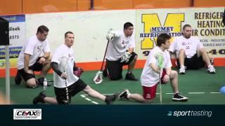 CLAX (Canadian Lacrosse League) Sport Testing Combine