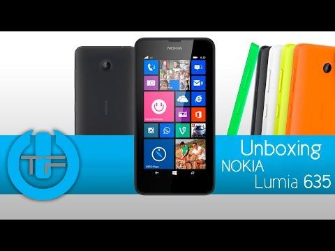 Unboxing Nokia Lumia 635 - Primeras impresiones