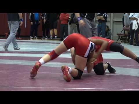 2016 McMaster Invitational FW55kg Krystal Adair Brock vs Mecah Savory York
