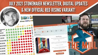 July 2021 SM Newsletter, Digital Updates \u0026 New Official Red Rising Variant - The Mill
