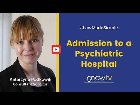 Admission to a Psychiatric Hospital