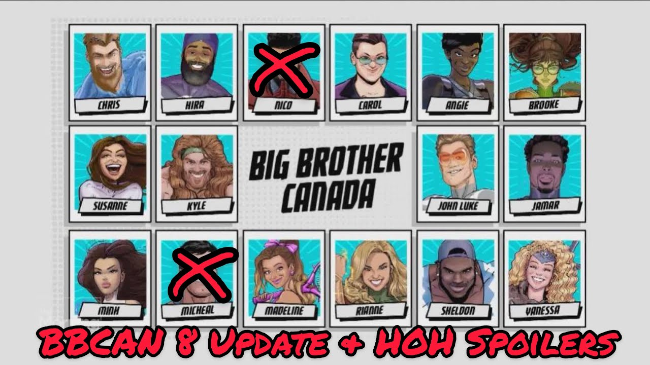 Big Brother Canada Update // Jamar, Kyle, and HOH Spoilers ...