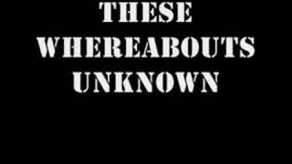 Rise Against - Whereabouts Unknown with lyrics
