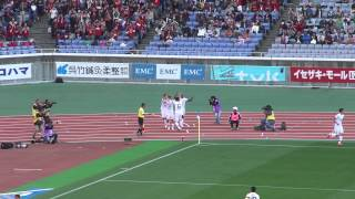 2013 05 03 J1 #9 横浜FM 1-1 鹿島 73分 小笠原→野沢