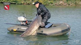 Рыбалка в Беларуси Платная рыбалка Ловля форели и пираний Специальный репортаж