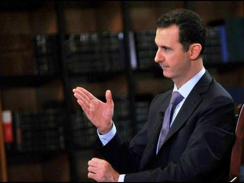 Syrian President Bashar Al-Assad interviewed by RaiNews24 (Italian TV channel), 29/9/2013