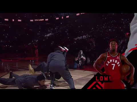 2019 NBA Finals Game 1 Introduction + Starting Lineups Toronto Raptors vs Golden State Warriors
