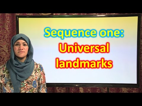 sequence 1: universal landmarks 2