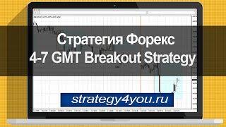 Стратегия форекс 4-7 GMT Breakout Strategy