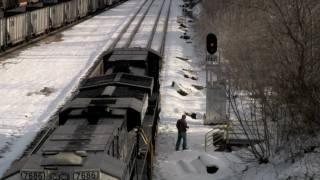 NS Southern West Virginian (Pokey) Rail Video