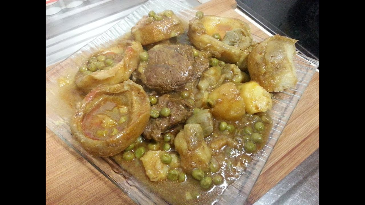 Cuisine tunisienne tajine d 39 artichauts petits pois et - Cuisine tunisienne traditionnelle four ...