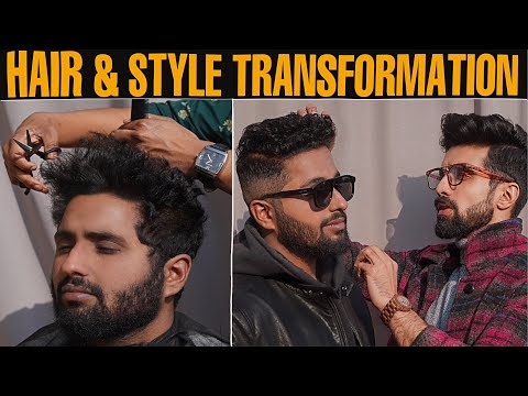 simple-college-boy's-hair-&-style-transformation|-curly-wavy-hair|-haircut-tips-|style-tips-|-hindi
