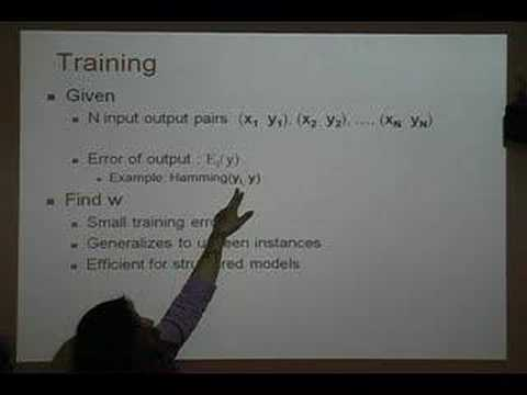 Max-margin training and inference on structured models for information extrac...