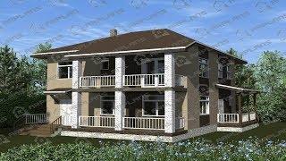 Проект дома 10х10 2 этажа