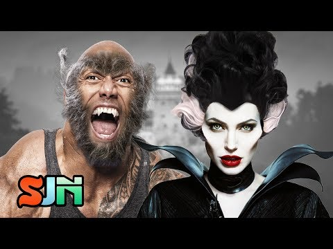 Download Youtube: The Rock and Angelina Jolie Joining the Dark Universe?