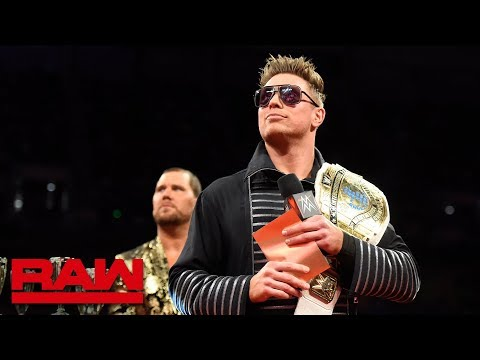 Seth Rollins and Finn Bálor crash the Third Annual Mizzies: Raw, March 5, 2018