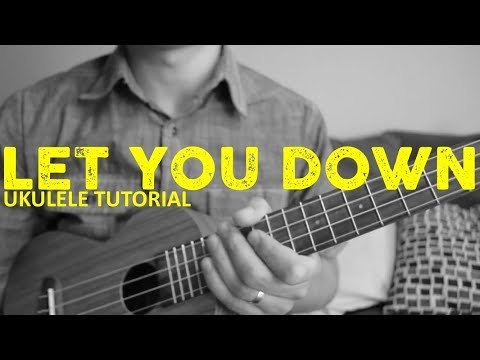 Let You Down - NF - EASY Ukulele Tutorial - Chords - How To Play