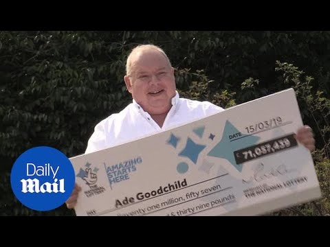'Happy As A Little Pig': Factory Worker Celebrates Lottery Win