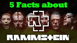 5 'GERMAN' FACTS ABOUT RAMMSTEIN! 🔥🤘 | VlogDave