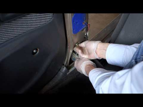 How to replace Toyota Corolla front seat belt. Years 1991 to 2005