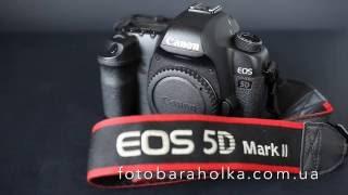 Canon EOS 5D Mark II цена 900$ купить на Фотобарахолка Киев(В стоимость входит: камера Canon EOS 5D Mark II, оригинальная заглушка байонета Canon, оригинальный нашейный ремень..., 2016-06-17T07:47:43.000Z)