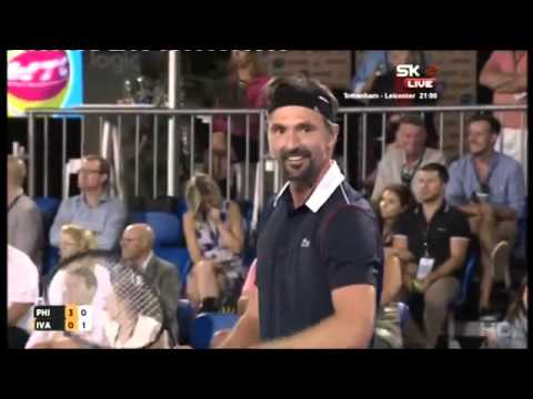 Mark Philippoussis vs Goran Ivanisevic FULL MATCH HD World Tennis Challenge 2016