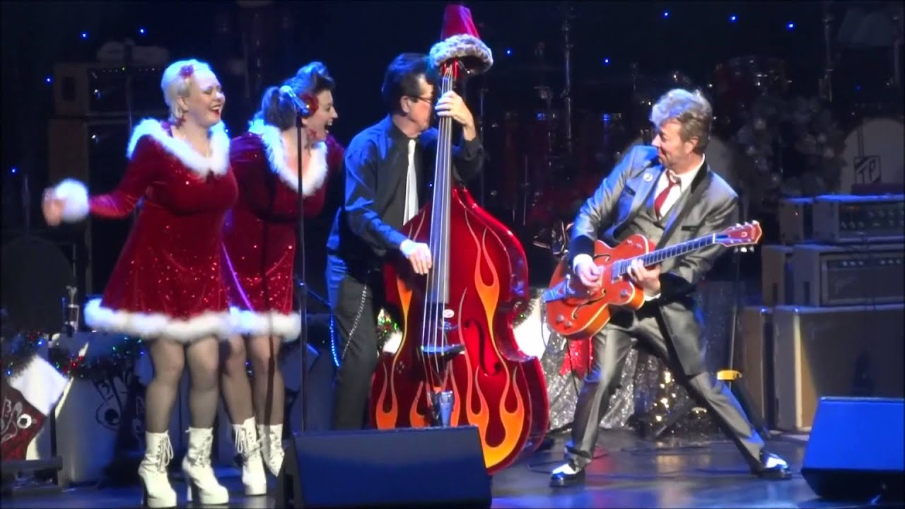 brian setzer jingle bell rock christmas concert dolby theater hollywood youtube. Black Bedroom Furniture Sets. Home Design Ideas