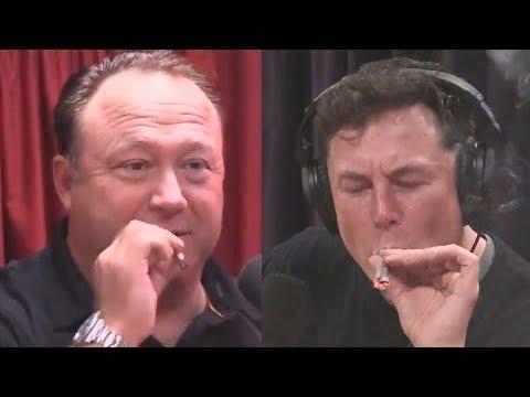 The Man Cave - Elon Musk meets Alex Jones