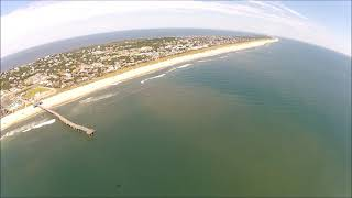 Richard, Katherine and Riley fly to Hatteras and back with Coastal Helicopters!
