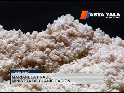 Alemania está interesada en invertir más de $us 350 millones para industrializar el litio boliviano