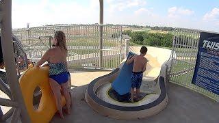 Twister Water Slide at Schlitterbahn Kansas City