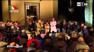 Sant'Anna di Stazzema - RAI1 Fabio Fazio 25 Aprile 2015