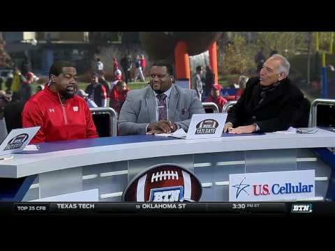 Ron Dayne Joins the BTN Tailgate Crew