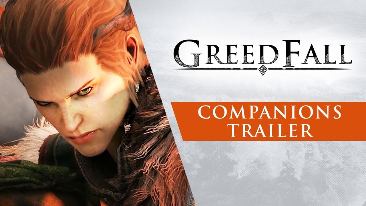 GreedFall - Companions Trailer
