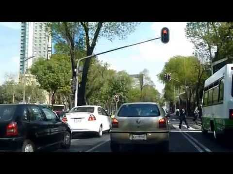 Driving Around Mexico City