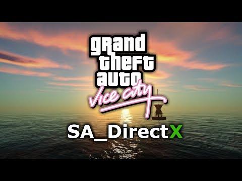 GTA Vice City Remastered Graphics - SA_DirectX 2.0 (HD)
