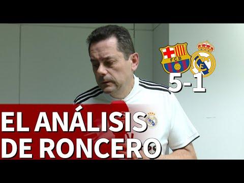 Barcelona 5 Real Madrid 1 | Las duras palabras de Roncero tras el desastre en el Camp Nou | Diario A