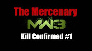 Modern Warfare 3 Mercenary #1: Kill Confirmed (Downturn Gameplay and Commentary)