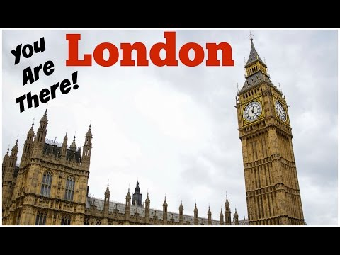 London Walk Through - Sights & Sounds of London!